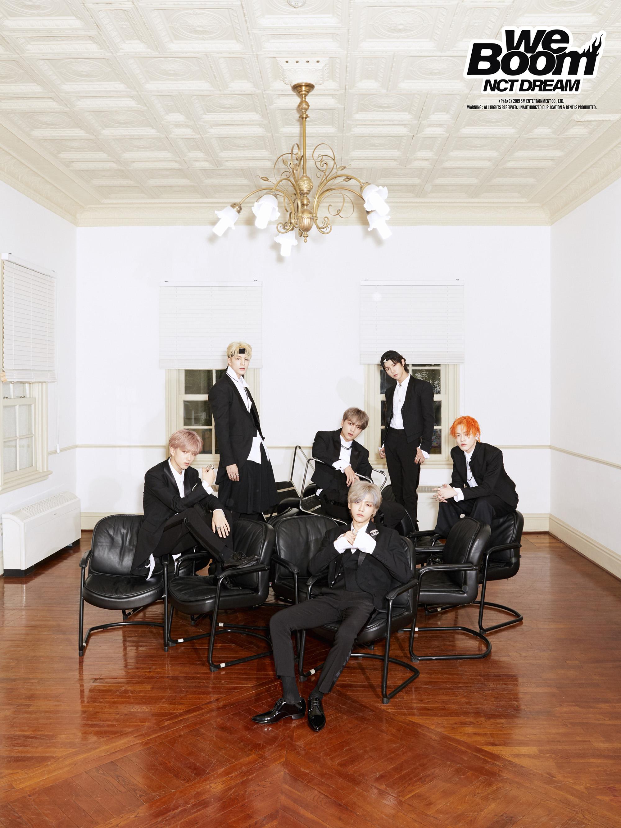 NCT DREAM新歌《BOOM》回归舞台于7月26号首播