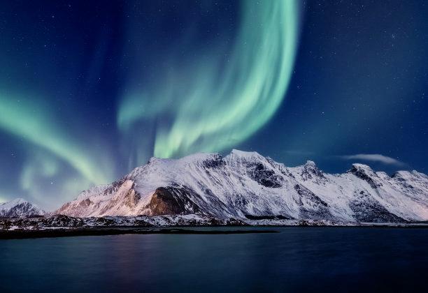 到冰岛追一场极光