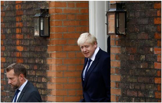 快讯!英国前外交大臣鲍里斯·约翰逊当选保守党党首,将接任英国首相