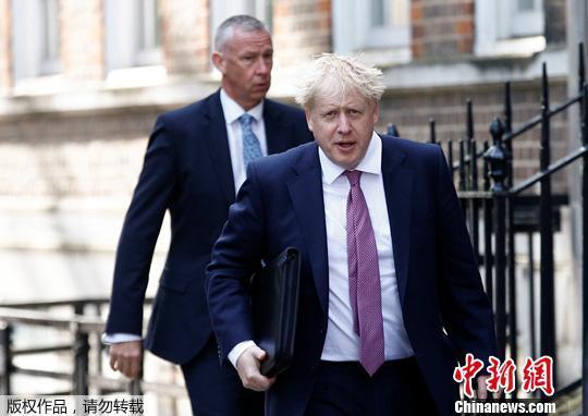 """英媒预测约翰逊""""登基""""英国首相职位几无悬念"""
