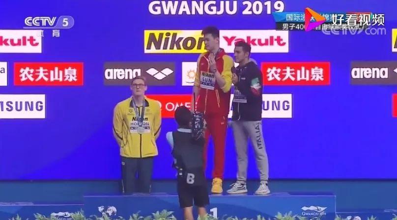 霍顿收到国际泳联警告信!孙杨昨晚晋级200自决赛,这次霍顿…