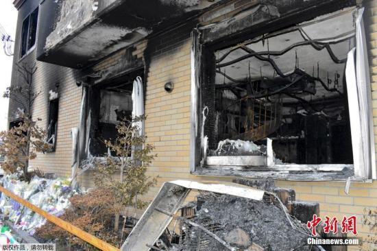 京都放火案:嫌疑人多次踩点 受害者来不及开门逃生