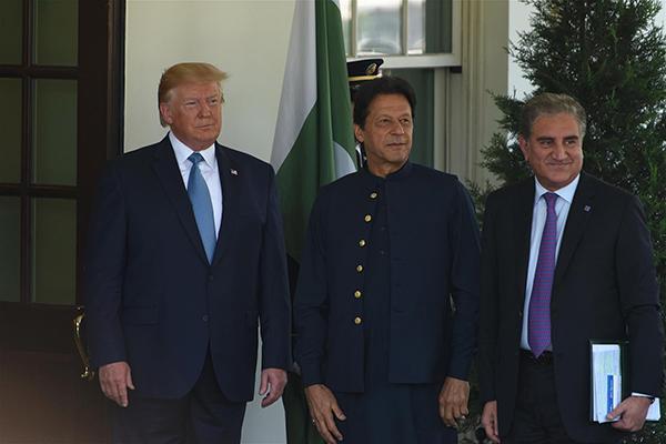 """特朗普""""提议"""":巴基斯坦调停阿富汗局势,美可调解印巴争端"""