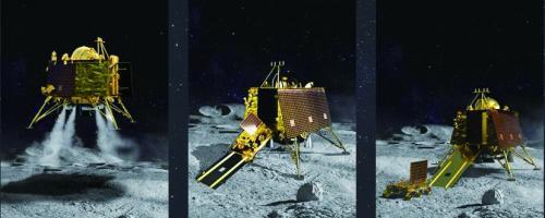 """""""月船2号""""载着印度探月雄心升空"""