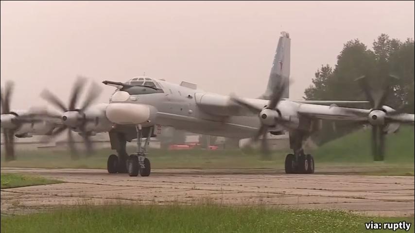 原来如此!俄国防部称,俄中远程航空兵首次在亚太地区联合巡逻飞行