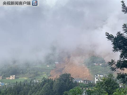 贵州水城县山体滑坡已致11人遇难 强降雨是诱发滑坡的原因之一