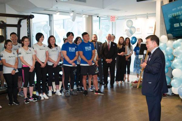 美国首个职业健身教练中文培训课程学员在纽约结业