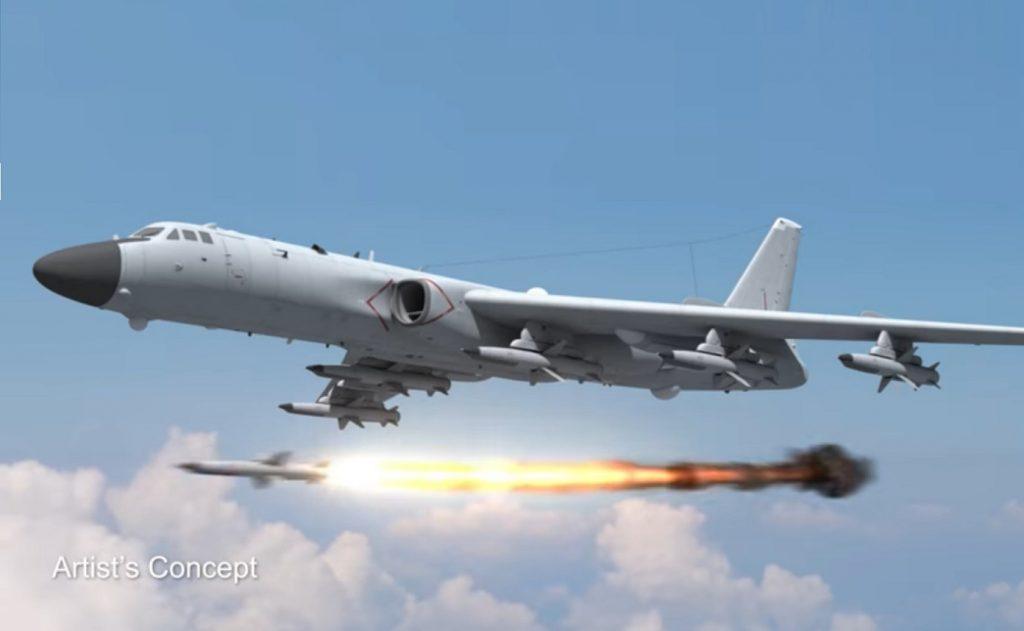 雷神公司展示新型导弹概念 称可拦截轰6发射导弹