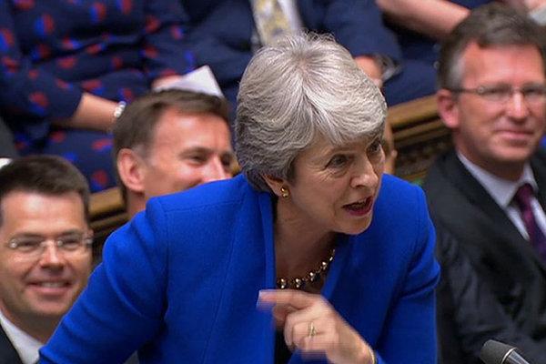 英国:特蕾莎·梅参加卸任前最后一次首相质询