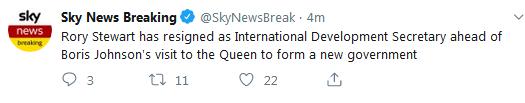 快讯!特雷莎・梅向英女王伊丽莎白二世递交辞呈