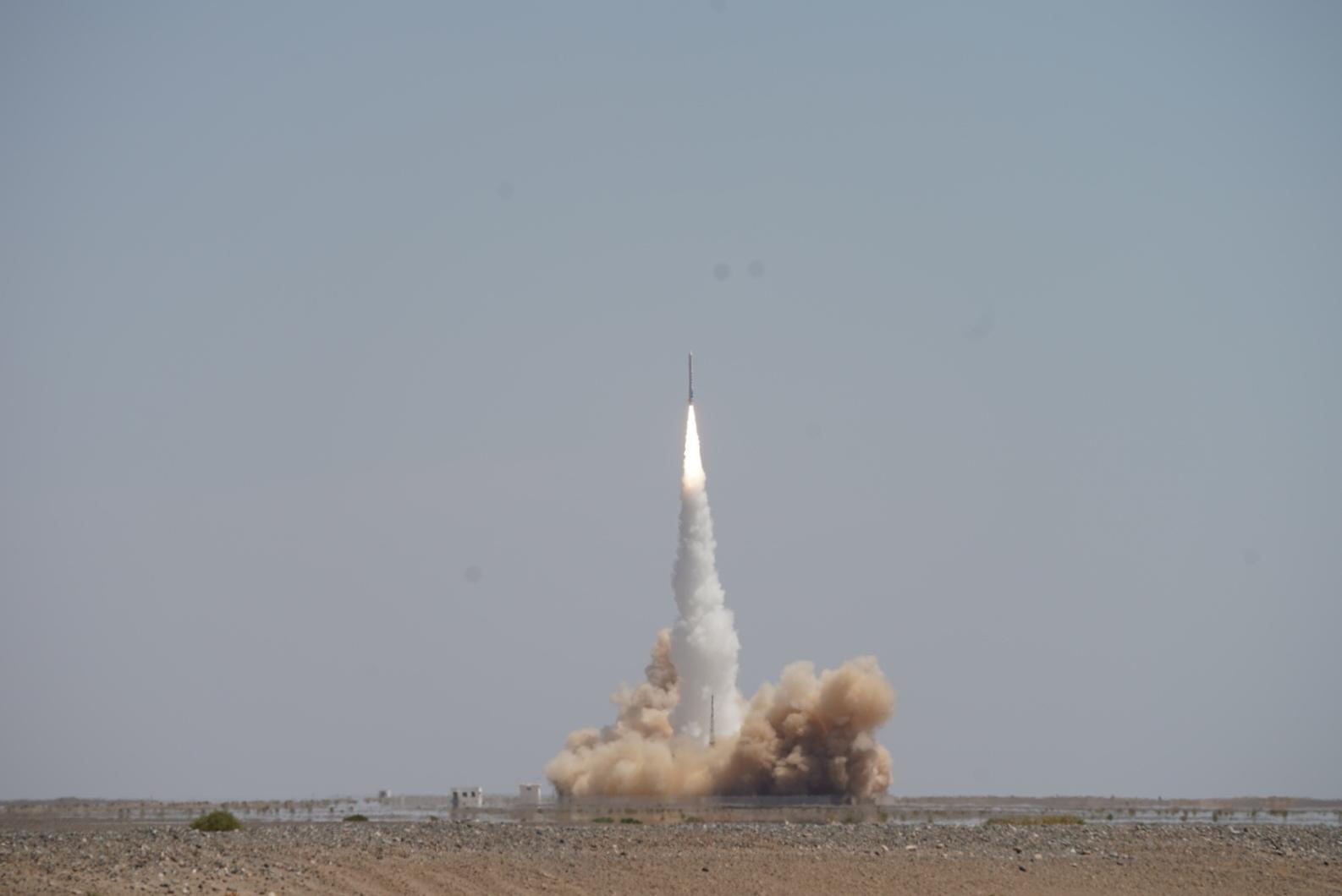 中国民营运载火箭零的突破 星际荣耀一箭多星成功入轨