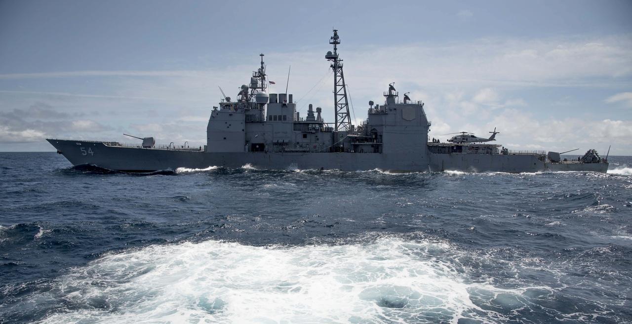 中方回应美军舰过台湾海峡:密切关注 全程掌握