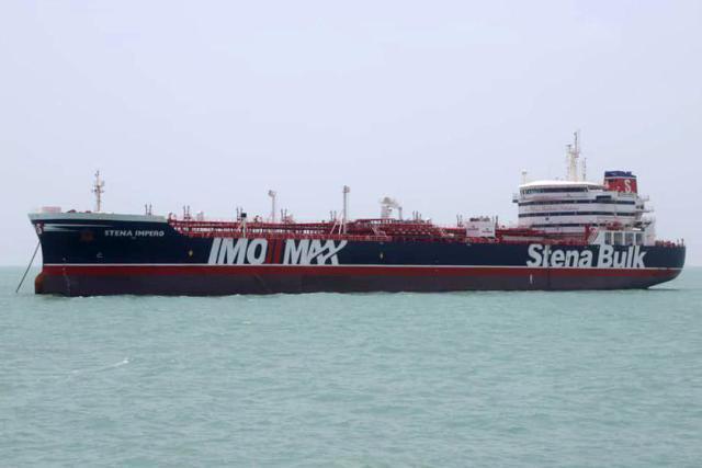 伊朗:遭扣押英国油轮曾撞坏渔船,污染海洋环境