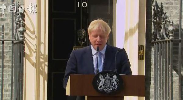 易格英语:新任首相约翰逊:英国将于10月31日脱离欧盟