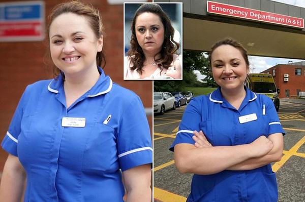 英女演员多次扮演护士 终改行变真正的护士