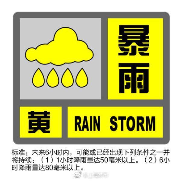 """暴雨+雷电+高温,上海发布""""三黄预警"""""""