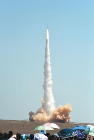 中国民营商业运载火箭成功实施首次入轨发射