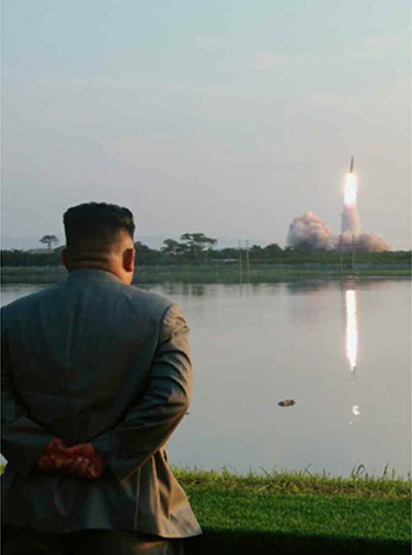 王汝刚儿子大洋马交配朝鲜发布25日进行导弹射击画面 金正恩亲临现场观看