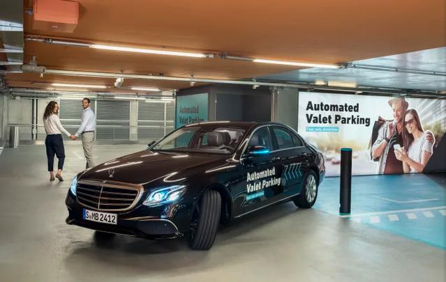 博世与戴姆勒合作无人驾驶自动泊车获批试运行