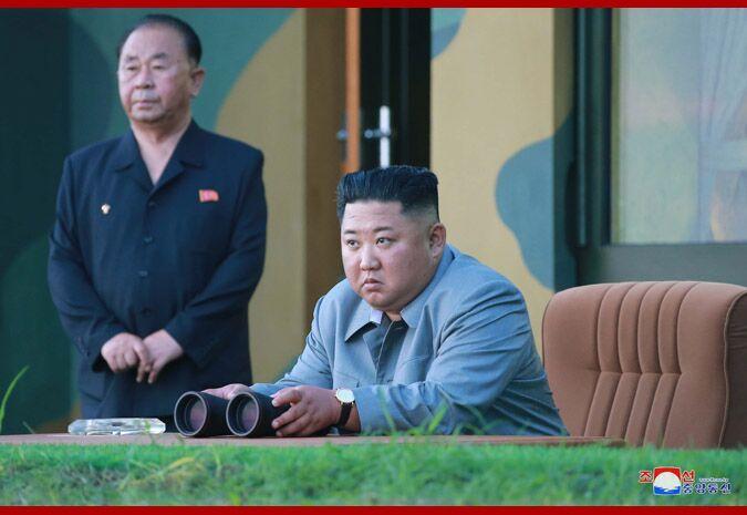 暴牙恶魔aotm奥特曼动画片朝鲜发布25日导弹射击画面,金正恩安排并亲身辅导