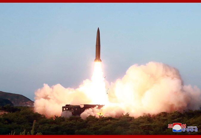 朝鮮公布25日導彈射擊畫面,金正恩組織并親自指導