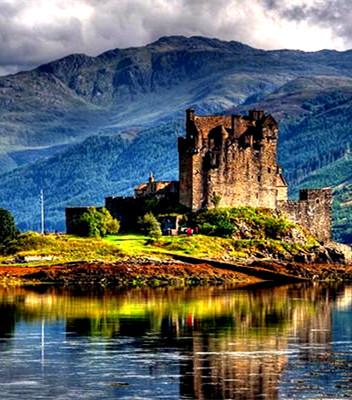 苏格兰高地   山川叠嶂的魔幻系风景