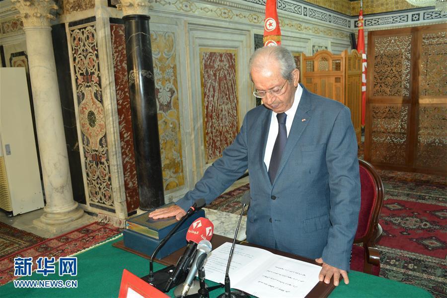 突尼斯议长宣誓就任临时总统