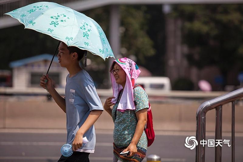 中东部大范围高温热至周末 需防局地强对流
