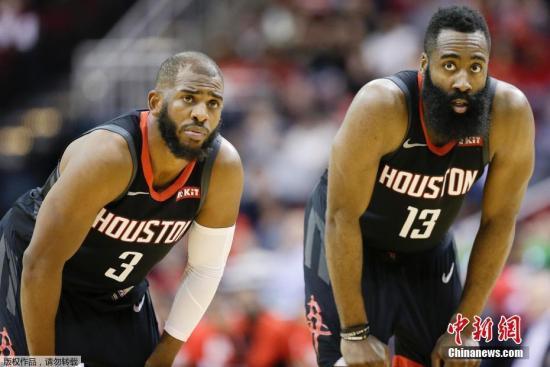 NBA:克里斯-保罗发文告别休斯顿感谢火箭球迷