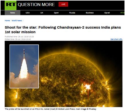 火影忍者漫画682son songpaisarn印度要发射首个太阳探测器,网友戏弄:是不是计划晚上去