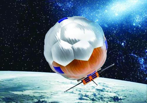 """上天的卫星藏着黑科技:""""空间帆球"""""""