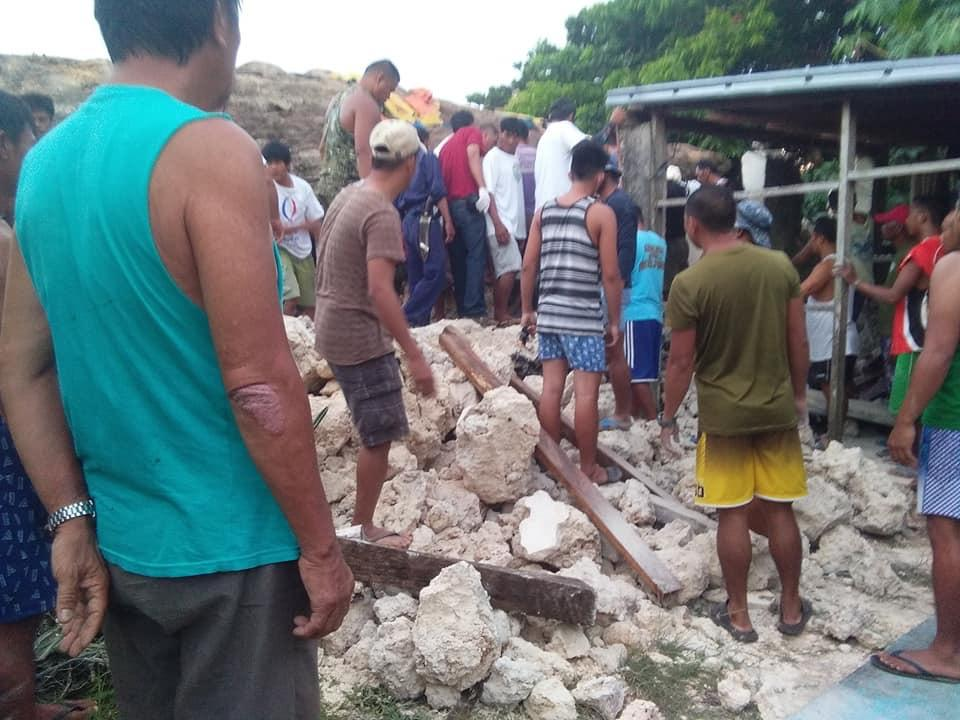 菲律宾北部今早发生两次5级以上地震 造成至少5人死亡