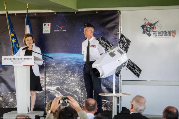 法国正在研制一种新的太空激光器
