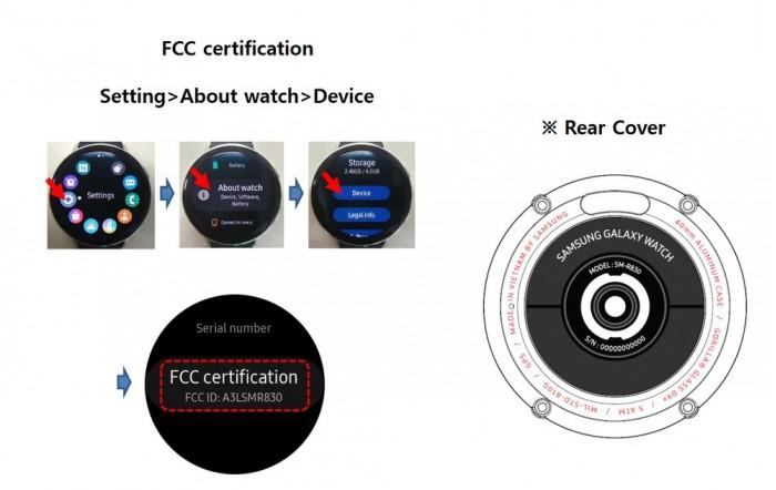 三星智能手表Galaxy Watch Active 2通过FCC认证
