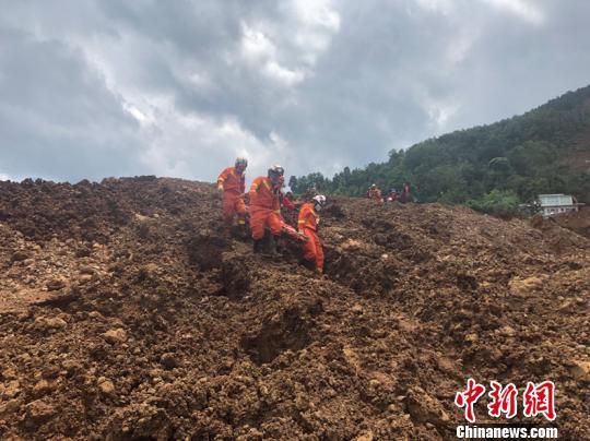 貴州水城山體滑坡已搜救出遇難人員36人 失聯15人