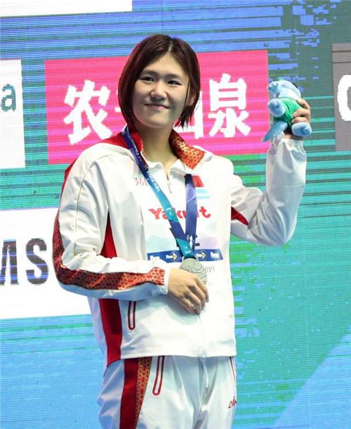 战胜恐惧 光州世锦赛女子400米混叶诗文再夺一银
