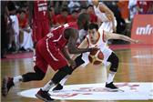 国际男篮对抗赛:中国85-63大胜喀麦隆