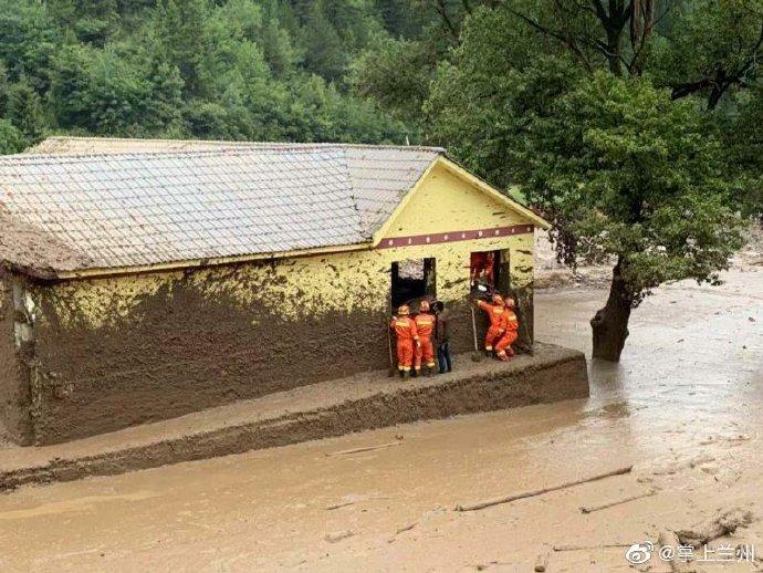 甘肃省甘南迭部泥石流造成1人遇难,3人失联