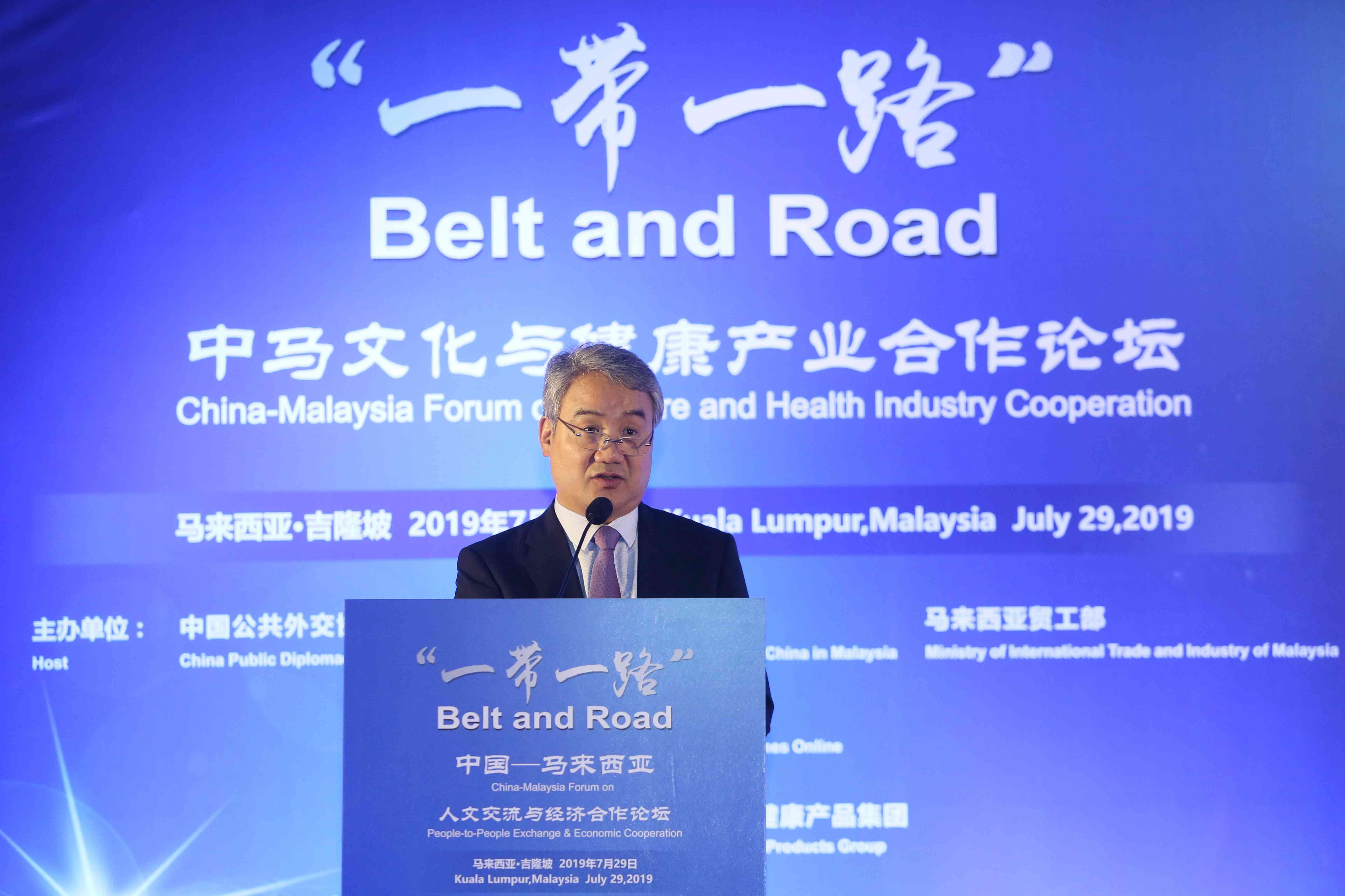 """环球网总经理单成彪:""""一带一路""""为中医文化和产品走出去提供了重要平台和良好契机"""