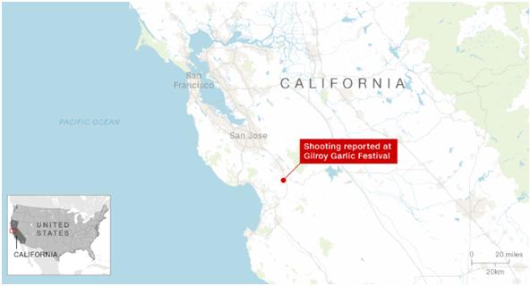 加州枪击案亲历者:一切都像一场噩梦,无法相信这是真实发生