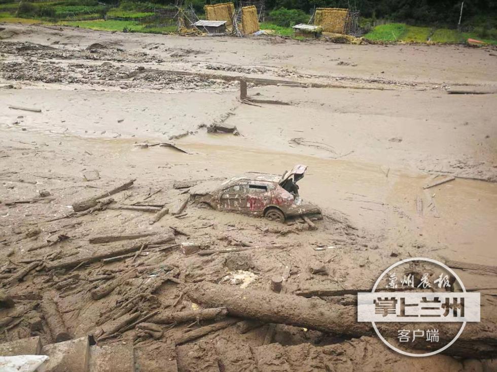 甘肅迭部發生山洪災害:24戶農戶受災,已致1死3失聯