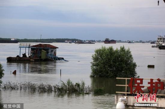 鄱陽湖退出警戒水位 江西結束防汛四級應急響應