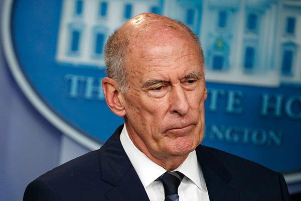 蓝鸟电容麦浙江省教育考试院美国国家情报总监科茨将离任,美媒称其与特朗普长时间不好