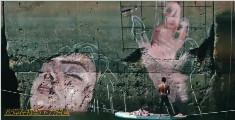 """日本画家画了一幅""""水中少女"""""""