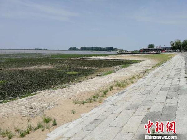 江苏苏北遭遇60年一遇罕见气象干旱:主要湖库接近死水位