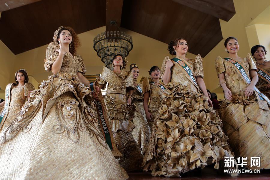 由美祛斑霜保时捷女斑马线菲律宾睡莲节 穿上睡莲礼衣人人都是小仙女