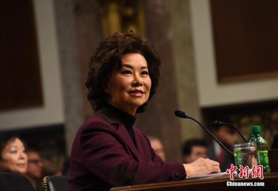 美媒:赵小兰赞亚裔对美国贡献 忧刻板印象仍存