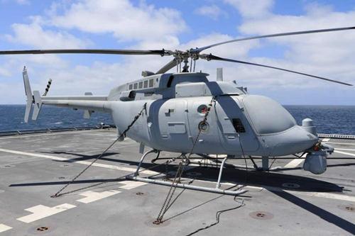 日本正考慮采購MQ8無人直升機 可檢測核輻射