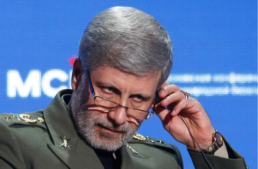 美官员称伊朗试射中程导弹,伊国防部长:此事在全球范围都正常