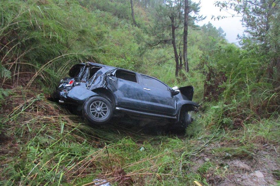 菲律宾一汽车坠入400米深谷致1死5伤 伤者均为中国公民
